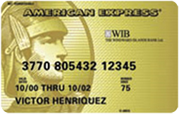 WIB American Express Gold Card
